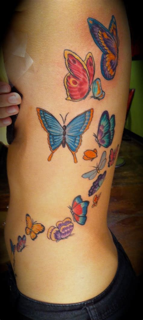 trail tattoos 39 best butterfly trail designs images on