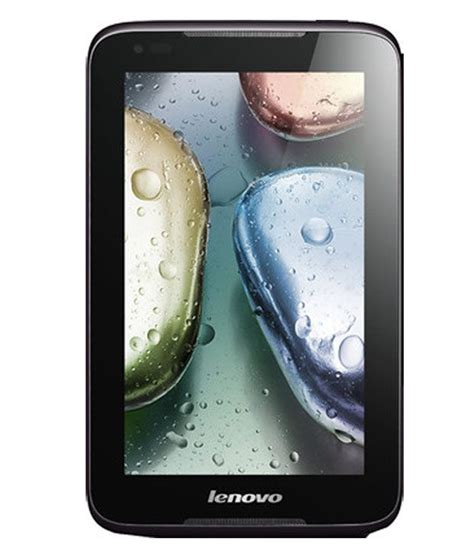 Tablet Lenovo Idea A3000 lenovo idea a1000 wifi only black tablets at low prices snapdeal india
