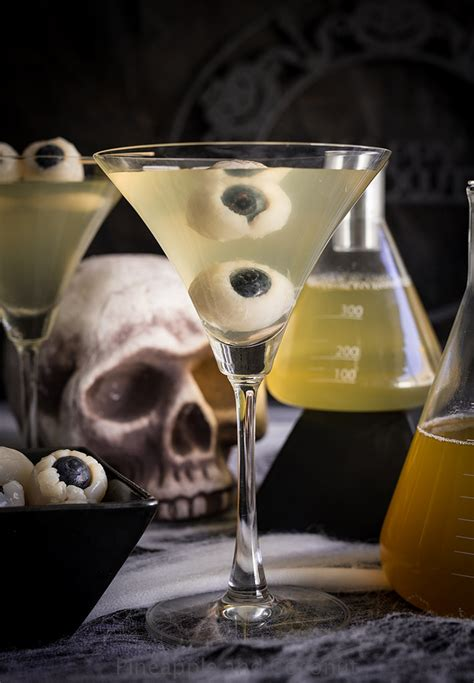 martini eyeball creepy eyeball martini lychee matcha and blood orange