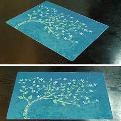 idaca waterproof vinyl teal placemats my kitchen accessories