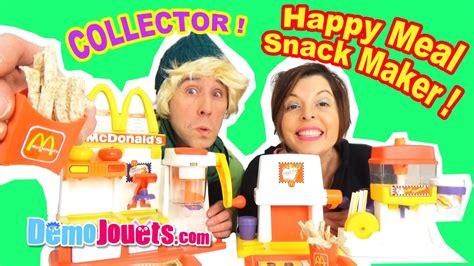 cuisine mcdonald jouet mega mcdonalds meal snack maker set special