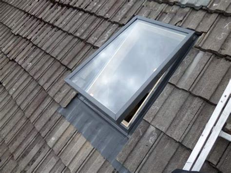 Garage Skylight by New Velux Window Roof Repair Glasgow East Kilbride
