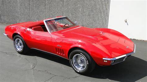 1968 chevrolet corvette convertible 132911