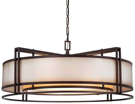 Dining Room Drum Pendant Lighting Large Drum Light Fixture Goenoeng