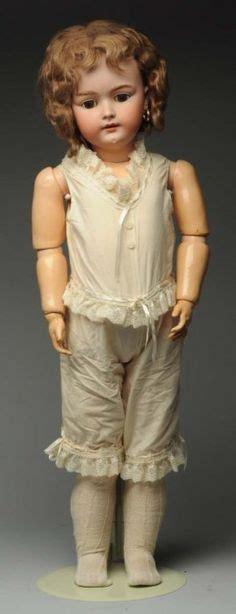 porcelain doll number on neck details zu antique bisque doll by george borgfeldt