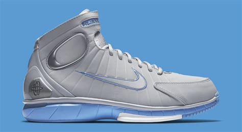 Nike Grey With Blue nike huarache 2k4 grey blue sneaker bar detroit