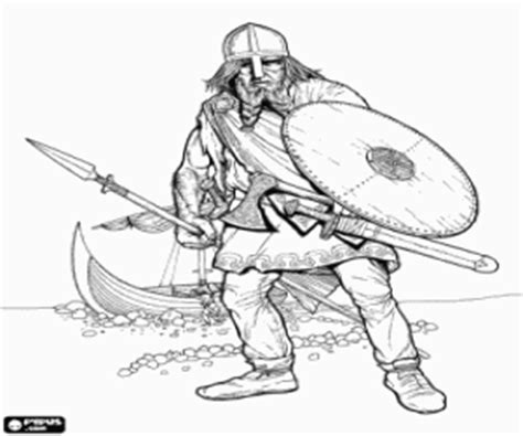 Vikings coloring pages printable games #2