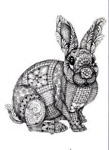 Coloring adult bunny coloring pages difficult free coloring pages