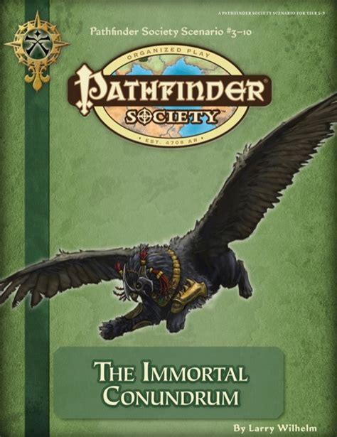 The Immortal Society paizo pathfinder society scenario 3 10 the