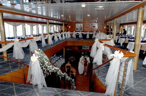 wedding reception locations with yacht view boat manhattan harbor dinner cruise line with spectacular views