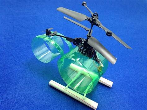 Membuat Robot Helikopter | motor mainan dari kaleng bekas mainan toys