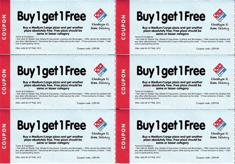 domino pizza voucher code free dominos india pizza coupons 50 off free offers india