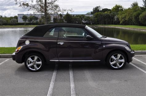 2005 chrysler pt cruiser for sale 2005 chrysler pt cruiser gt convertible for sale