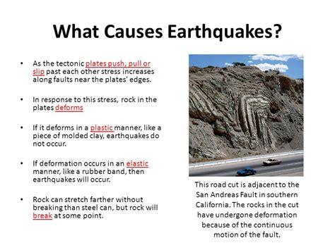 earthquake causes chapter 5 earthquakes ppt video online download