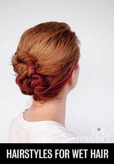 easy hairstyles for medium wet hair easy updo hairstyles hairstyles for medium length and