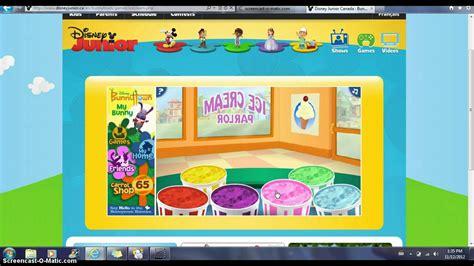 bunnytown icecream parlor screencast youtube