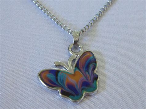 butterfly mood necklace best mood rings