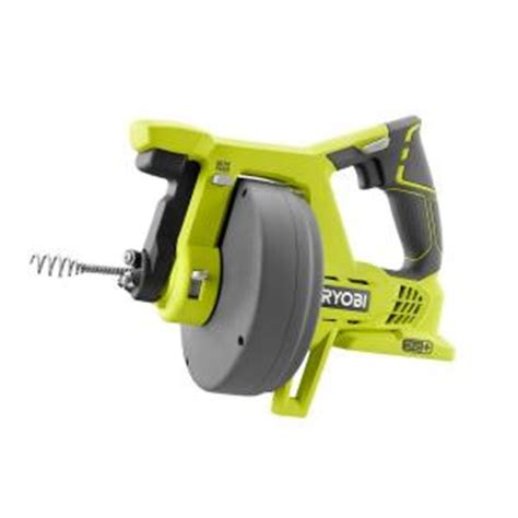 Plumbing Auger Home Depot ryobi 18 volt one drain auger tool only p4001 the