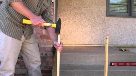concrete front steps ideas  pinterest painted
