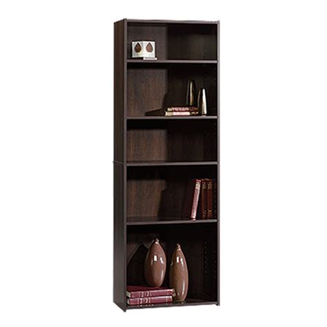 sauder beginnings bookcase sauder beginnings cinnamon cherry open bookcase 409090