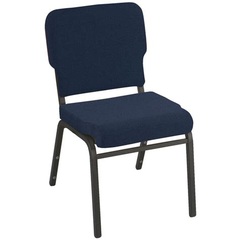 kfi seating wing  stack chair standard fabric  seat wb padded stack chairs