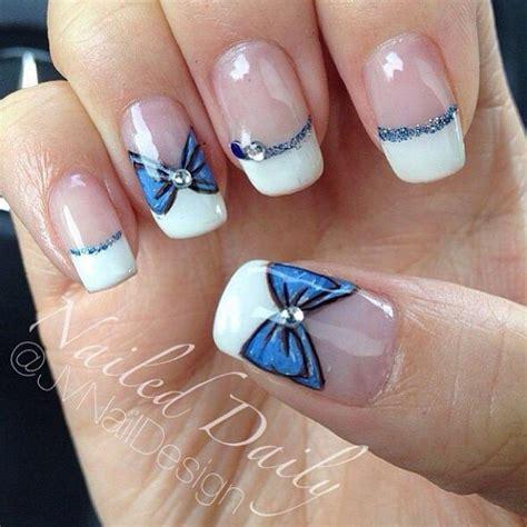 easy nail art bow 50 cute bow nail art designs be modish