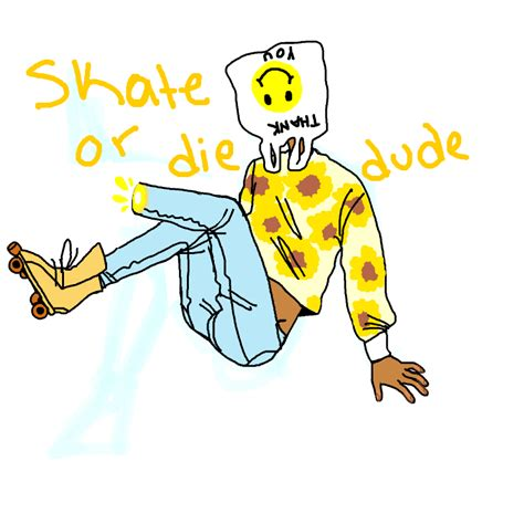 Skater Ghost he was a skater ghost slimber drawing and painting