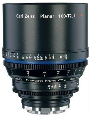 zeiss cp.2 100mm pl lens t2.1 (cf) ver