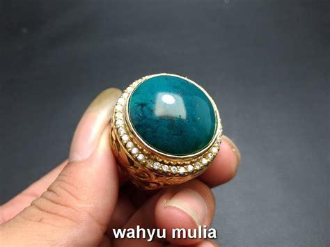 Batu Cincin Bacan Doko Hijau batu cincin akik bacan doko besar asli kode 753 wahyu