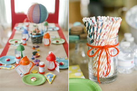 Toddler Birthday Decoration Ideas by A Colorful 2nd Birthday Lollacup Giveaway