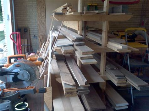 free standing lumber storage rack diy plans how to build a freestanding lumber rack pdf