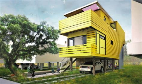 green home design sustainable homes for katrina victims from brad pitt