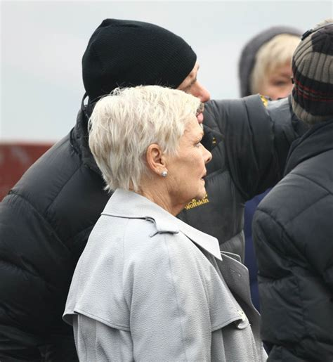 judi dench haircut back of head judi dench hairstyle front and back head short hairstyle