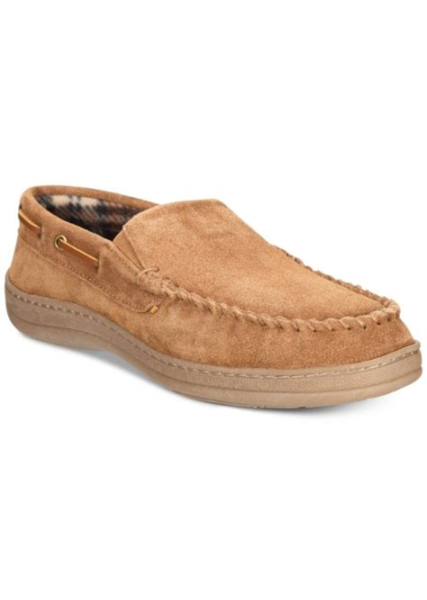 rockport slippers rockport rockport s suede moccasin slippers shoes
