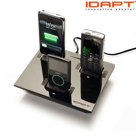 Desktop Universal Charger Delcell idapt i4 universal desktop charger black