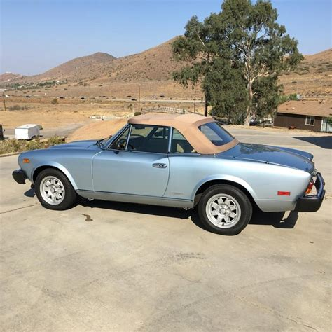 fiat spider 2000 for sale 1985 fiat 2000 spider pininfarina for sale 1861617