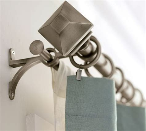 pottery barn double curtain rod 17 best ideas about double curtain rods on pinterest