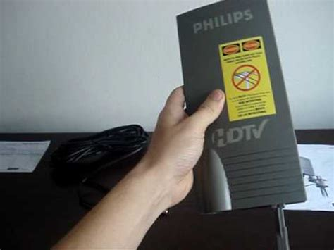 Antena Tv Digital Outdoor Terbaik antena philips lificada 18db sdv2940 lified indoor outdoor para tv digital uhf hdtv