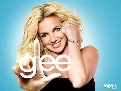 britney spears glee britney spears glee omg britney tweets entire glee debut