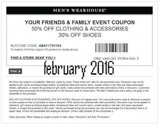 mens warehouse printable coupon | my blog