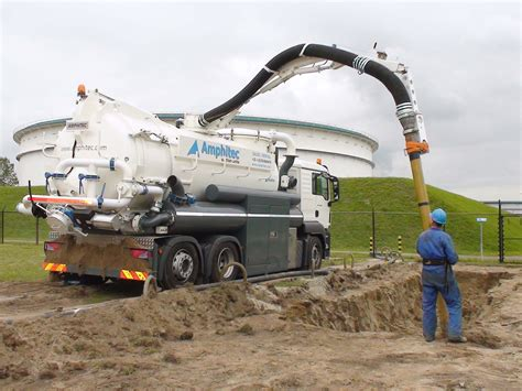vacuum excavation hitec video vacuum and pressure truck