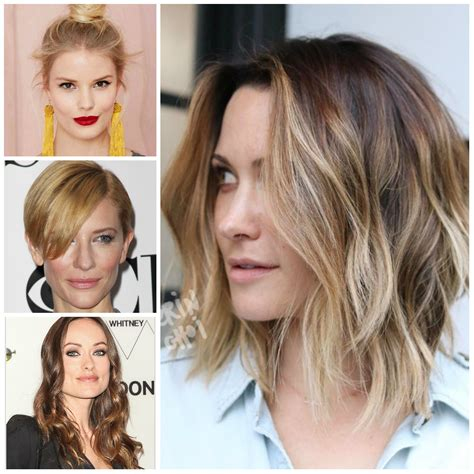 New Hairstyle For 2018 by Hairstyles For With Square Faces In 2018 New