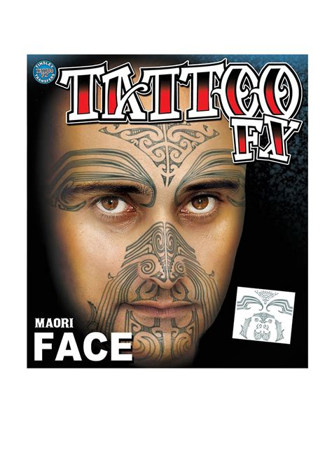 face tribal tattoos maori tribal temporary