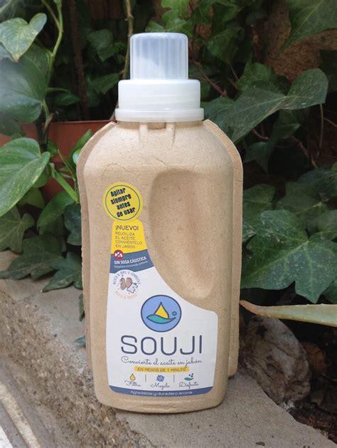 souji convierte tu aceite de cocina usado en detergente