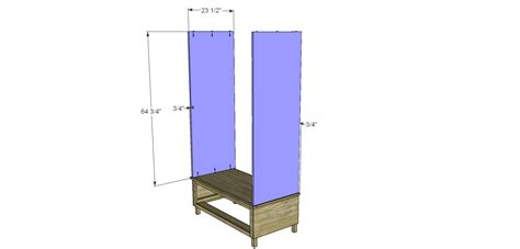 diy woodworking plans  build  large armoire