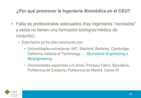 nota de corte ingenieria biomedica 191 qu 233 es la ingenier 237 a biom 233 dica