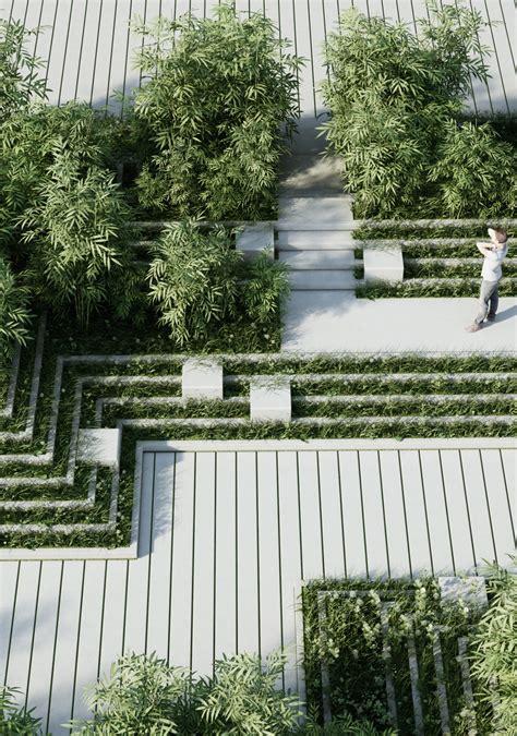 designboom landscape architecture penda magic breeze landscape design in india