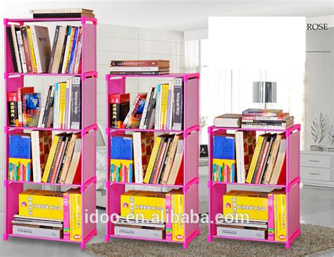 modern popular design non woven fabric bookshelf diy