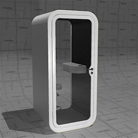 Country Kitchen Furniture framery o phone booth 3d model formfonts 3d models