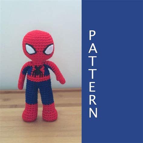 amigurumi spiderman pattern free las 558 mejores im 225 genes sobre hačkovanie en pinterest